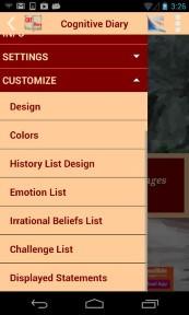 Cognitive Diary CBT Self Help App Screenshot 06