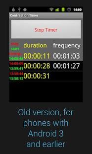Contraction Timer App Screenshot 03