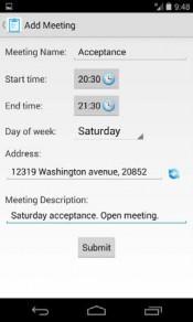 Meeting Finder App Screenshot 03