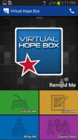 Virtual Hope Box App Screenshot 01