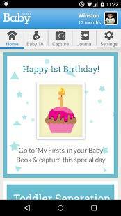 WebMD Baby App Screenshot 01