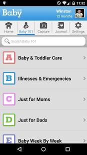 WebMD Baby App Screenshot 02
